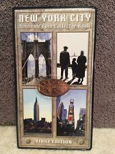 Elongated Pressed Pennies New York City Souvenir Coin Collector Book 16 Total
