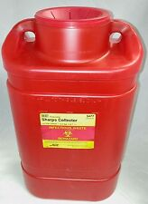MD80 NEW CASE OF 8 B-D EXTRA LARGE 5 GALLON SHARPS COLLECTOR FUNNEL TOP 5477