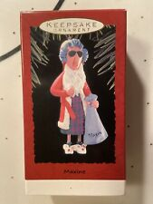 Hallmark Keepsake 1993 Maxine As Santa Christmas Ornament Shoebox Greetings