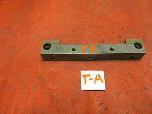 MG TA, Original Engine Front Oil Pan Mounting Block or Bracket, VGC!!O