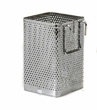 Stainless Steel Kitchen Utensil Chopsticks Perforated Holder Small Square Caddy
