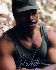 [6491] Carl Weathers PREDATOR Signed 10x8 Photo AFTAL