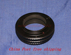 M39/Leica 39 lens to Sony E mount Adjustable Focusing Helicoid Adapter 17~31mm