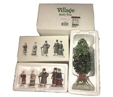 Department Dept 56 Village Accessory - Chelsea Lane Shoppers & Holly Tree