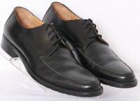 Johnston & Murphy 15-6753 Black Leather Lace-Up Dress Oxford Shoes Men's US 9.5M