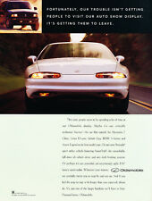 1996 Oldsmobile Aurora - demand better - Classic Car Advertisement Print Ad J72