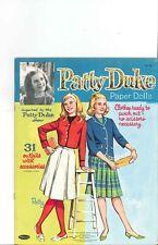 VINTAGE UNCUT PATTY DUKE PAPER DOLLS CUTE HD~LASER REPRODUCTION~LO PRICE~HI QU