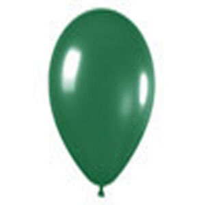 """12 FASHION FOREST GREEN LATEX BALLOONS Helium Grade 11"""""""