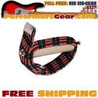 Jim Dunlop 72D Flat/ Curved Steel 6-String Guitar Double Heavy Elastic Capo NEW