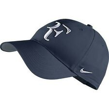 NEW Nike Hybrid RF Roger Federer Hat 371202-410 Midnight Navy / Flint Grey