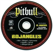 Pitbull BOJANGLES (Promo Maxi CD Single) (2006)