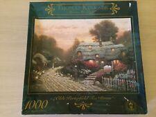1000 piece jigsaw puzzles (Thomas Kinkade)