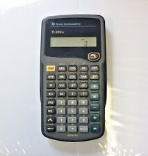Nice Working Texas Instruments Scientific Ti-30Xa Calculator Excellent Htf