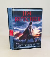 First Lord's Fury-Jim Butcher-SIGNED!!-TRUE First/1st Edition!!-Bk 6-Codex Alera