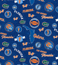 UNIVERSITY OF FLORIDA  Fabric - 1/2 yard UF