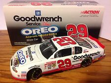 2001 Kevin Harvick #29 Oreo Show Car Chevy 1/24 Nascar Die-cast Hoto Action New