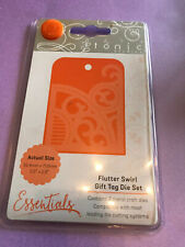 Tonic Studios - Essentials - Flutter Swirl Gift Tag Die Set - 2182E