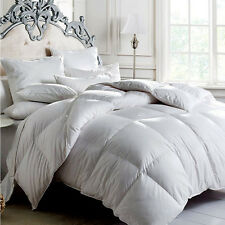 All Size 350GSM 100% Duck Feather Quilt/Doona Duvet  Blankets