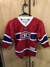Vintage Montreal Canadiens Reebok NHL Hockey Jersey, Sz Youth, Child, Kid, 4-7