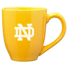 University of Notre Dame - 16-ounce Ceramic Coffee Mug - Gold