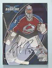 PATRICK ROY 2002/03 BAP BE A PLAYER SIGNATURE SERIES AUTOGRAPH AUTO SP