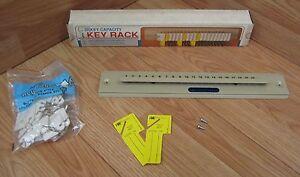 "MMF Industries (201-3020-03) 2 1/4"" x 13 3/4"" 20 Key Capacity Key Rack Organizer"