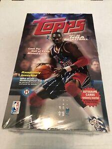 1997-98 Topps NBA Basketball Series 1 hobby box 36 ct