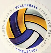 6 Volleyball(ONLY)Forever ROUND Stamps,US Sport 2017 Scott#5203-5210 Have-A-Ball