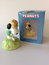 Vintage Willitts Designs Snoopy Golfing Music Box Style 9582
