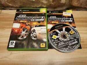 Midnight Club 3: DUB Edition - Microsoft Xbox Original Complete - See Offer!