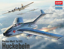 Academy 1/48 #12327 Focke-Wulf Ta183 Huckebein With Free Shipping + Free Gifts