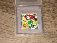 Yoshi Nintendo Game Boy w/Case Cleaned & Tested Authentic