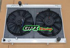 Toyota SUPRA MARK3 MA70 MA71 3.0L JZA70 7M-GTE 86-93 MT  Aluminum Radiator+FAN