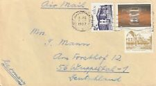 1987 South Africa cover sent to Wuppertal Germany