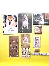 Shibainu Maru Shiba dog Set A 10pcs stationery New Japan Akita Hachi Bodhi FS
