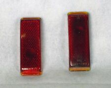 1941 Ford 1946 1948 Truck Tail Light Lens Glass 1 Pair NEW OEM NOS 11A-13450