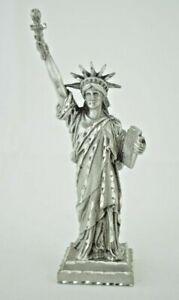 "Souvenir - Statue of Liberty - 5"" Genuine Pewter Figurine (Diamond Cut)"