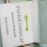 * Linens TWIN FLAT Sheet TARGET 100% Cotton Southwest Seafoam Green USA SELLER
