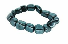 LUCKY ARIES BIRTHSTONE Bracciale ZODIAC Astrology Gemstone Ematite