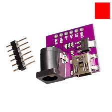 AMS1117-3.3V Power Supply Module Mini USB DC Power Socket Jack 5V/3.3V Arduino