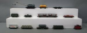 Fleischmann Vintage HO Scale Assorted Freight Cars [12]