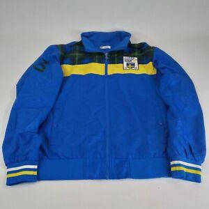 Sweden Xtep Fashion Soccer Jacket Size 4XL Mens fits like XL Football 190/108A