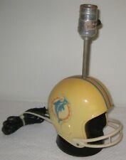 New listing Vintage Miami Dolphins Pro Sports Marketing 1973 Helmet Lamp