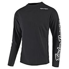 Troy Lee Designs 2020 Youth Sprint MTB Jersey Solid Black All Sizes