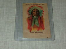 Native American Indian Cigarette Silk Turn Century Chief Young Wirlwind Tokio