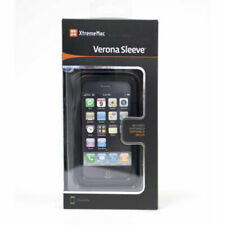 Xtrememac Verona Sleeve Leather Case + Screen Protector for iPhone 3G/3GS Black