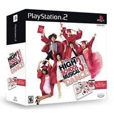 High School Musical 3 Senior Year Bundle with mat PS2 New Playstation 2