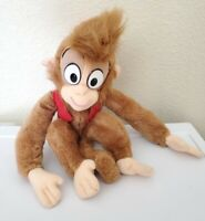 "Vintage Mattel 1992 Aladdin Abu Monkey Plush 18"" Stuffed Animal Walt Disney"
