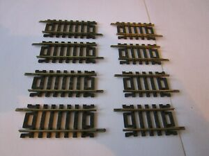 "Atlas   2"" Straight Track - 4 Sections & 2 1/2"" - 4 Sections - HO nickel silver"