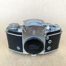 Exakta Varex IIa Type V-3 1958 Vintage 35mm SLR Film Camera - BODY & PRISM ONLY